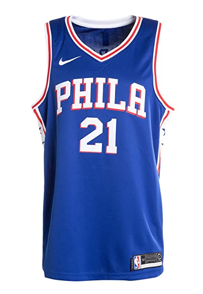 c49700188dd Joel Embiid Philadelphia 76ers Nike Swingman Jersey Blue - Icon Edition  (X-Large)