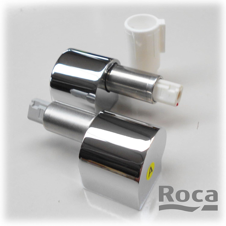 Roca lespace Kit de charni/ère pour lunette WC Fermeture Douce de rechange en chrome ai0012400r