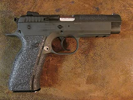 Sand-Paper-Pistol-Grips' - Peel and Stick - Grip Enhancements for The Rock  Island Armory MAP FS 9mm
