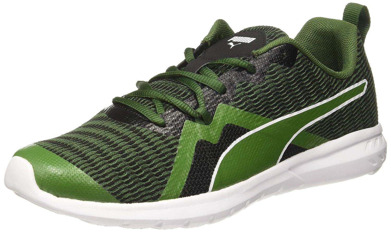 Puma Unisex-Adult Vigor X Mu Idp Black-Garden Green Running Shoes