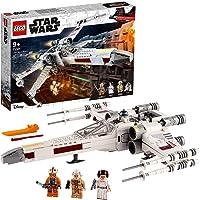 LEGO 75301 Star Wars Luke Skywalker's X-Wing Fighter-Speelgoed met Prinsess Leia en R2-D2 Droid Figuur