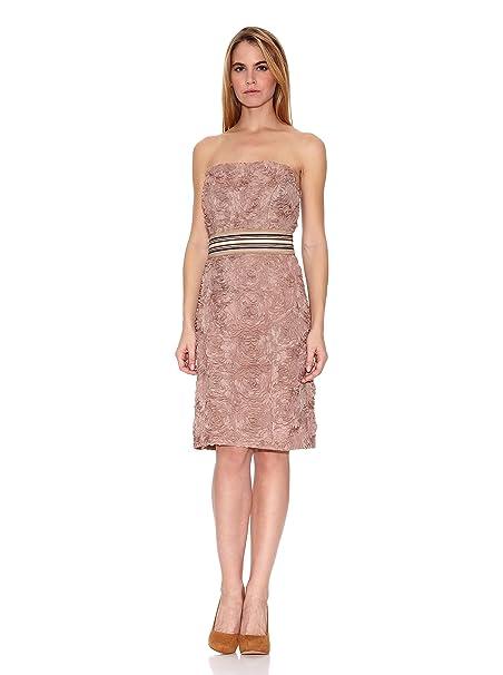 cc9ff220795 Oky-Coky Vestido Rosa Palo ES 42: Amazon.es: Ropa y accesorios