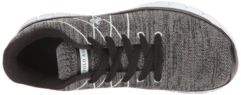 U.S. Polo Assn. Women's Women's Cora2 Fashion Sneaker B01KN1PJE2 7.5 B(M) US Black/Multi