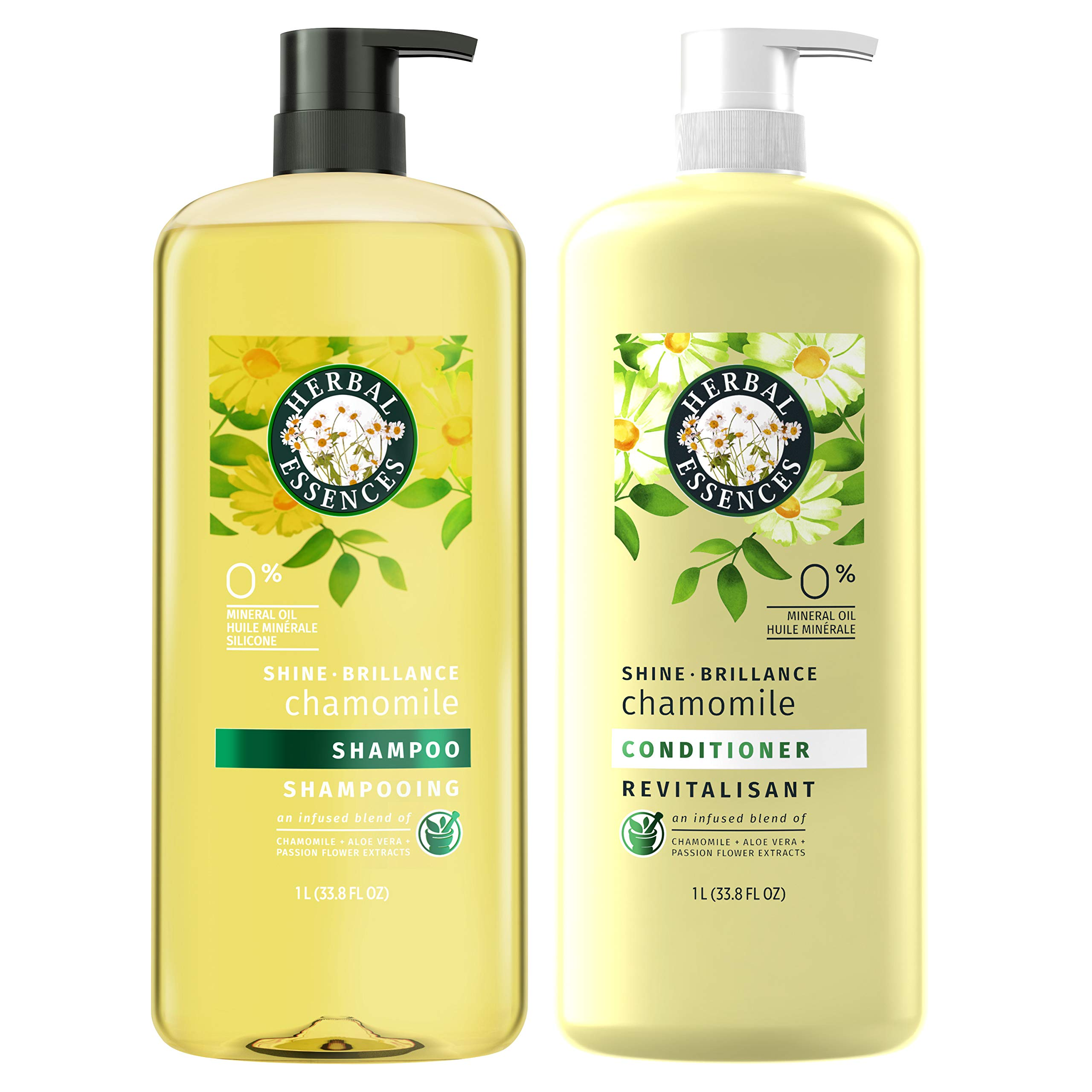 Herbal Essences, Shampoo and Paraben Free Conditioner Kit, Shine Collection, 33.8 fl oz, Kit by Herbal Essences