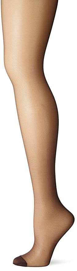 c1dd565c20f Hanes Women s Control Top Reinforced Toe Silk Reflections Panty Hose at  Amazon Women s Clothing store  Pantyhose