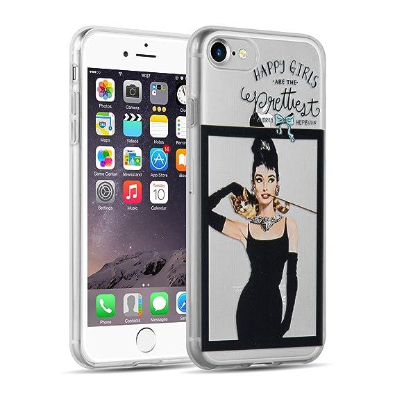 iphone 8 case audrey hepburn