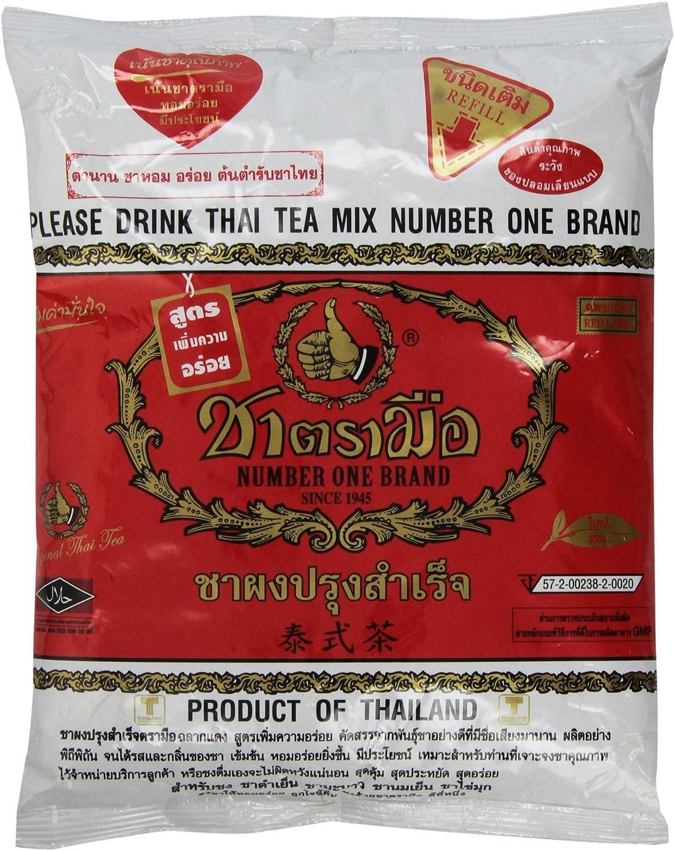 mix originale thailandese stile tradizionale tailandese con numero uno Cha Tra Mue - 400 g Thailandese Filtro da t/è in acciaio inox