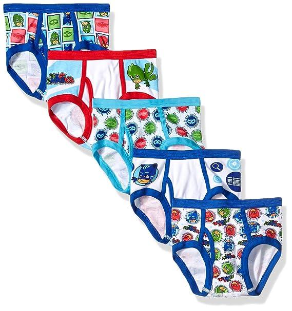 PJ Masks 5-Pack Brief Underwear, BOY-Multi, 6
