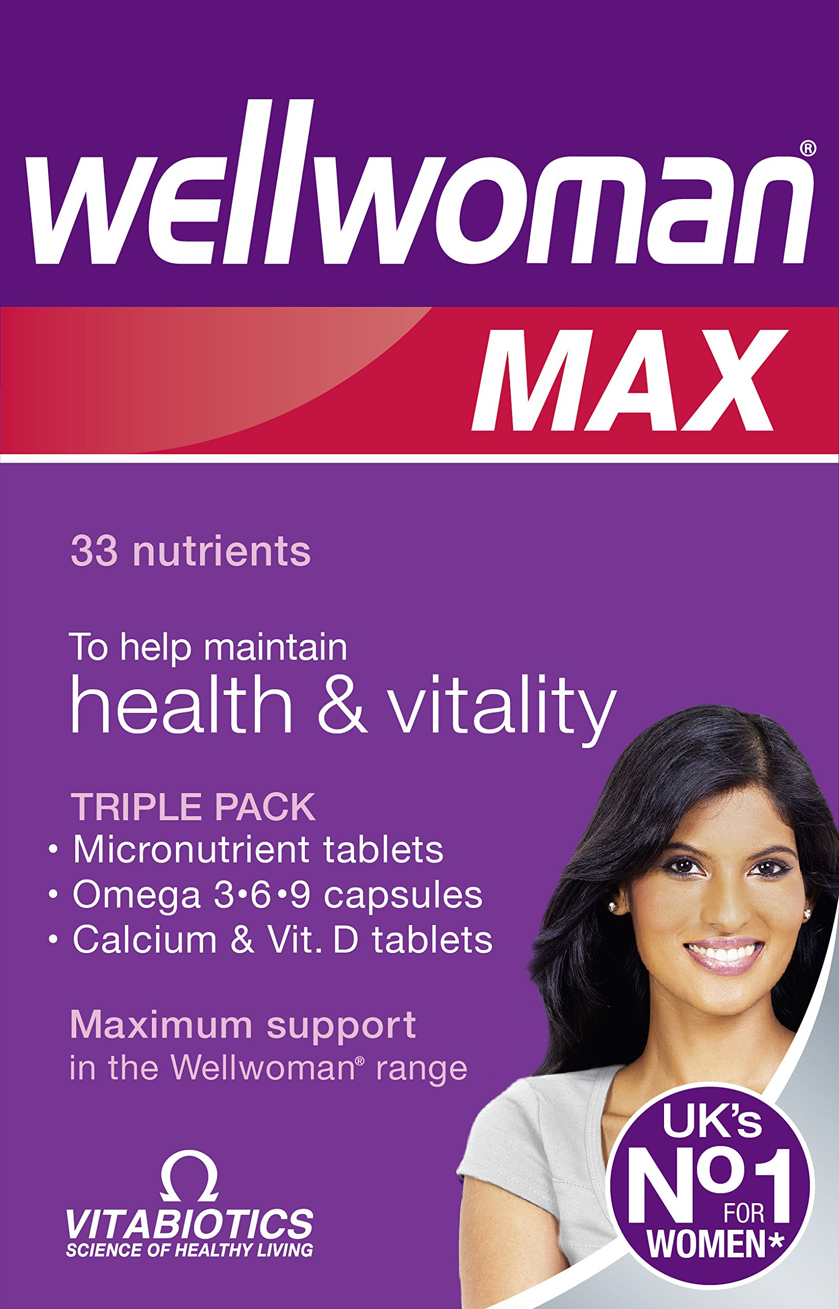 Wellwoman Max Capsules - Pack of 84