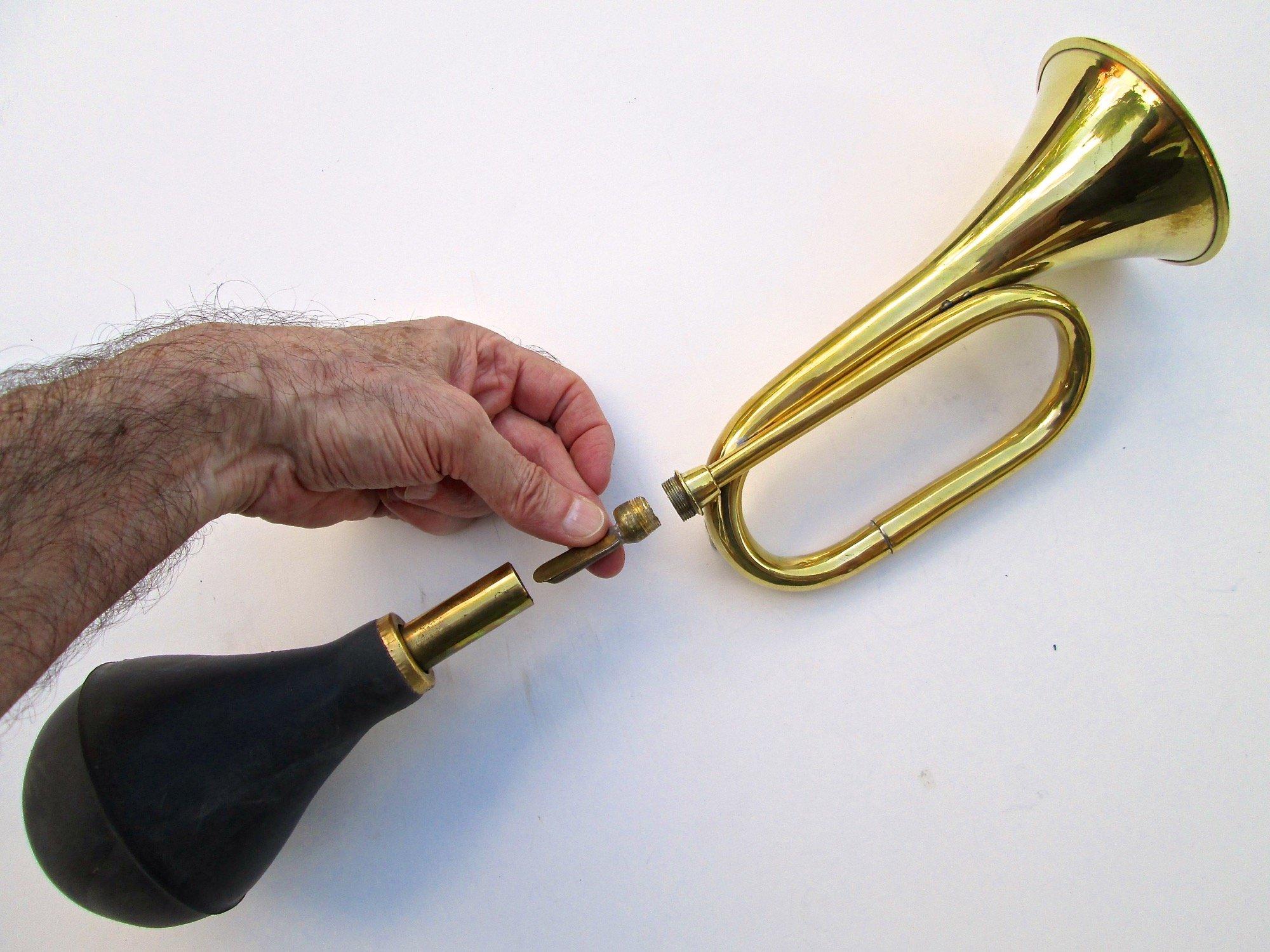 Small Brass Bulb Horn
