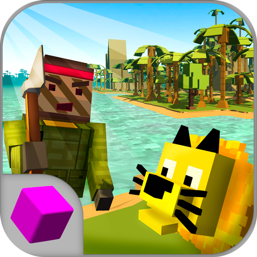 (Top-Down Island Survival Simulator 3D)