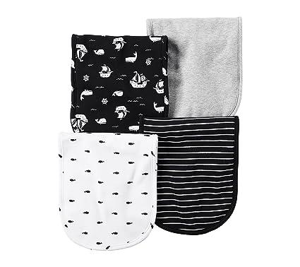 Amazon Com Carter S Baby Boys 4 Pack Ships Burp Cloths Clothing