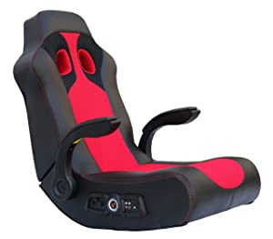 Ace Bayou X Rocker Vibe 2.1 Highback Rocking Video Gaming Floor Chair