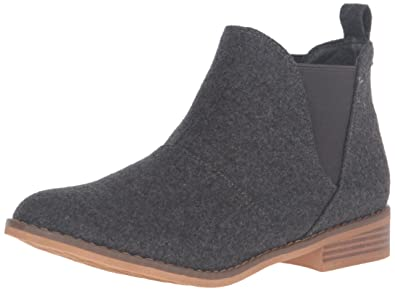 Rocket Dog Women's Maylon Joshua Fabric Ankle Bootie, Charcoal, ...