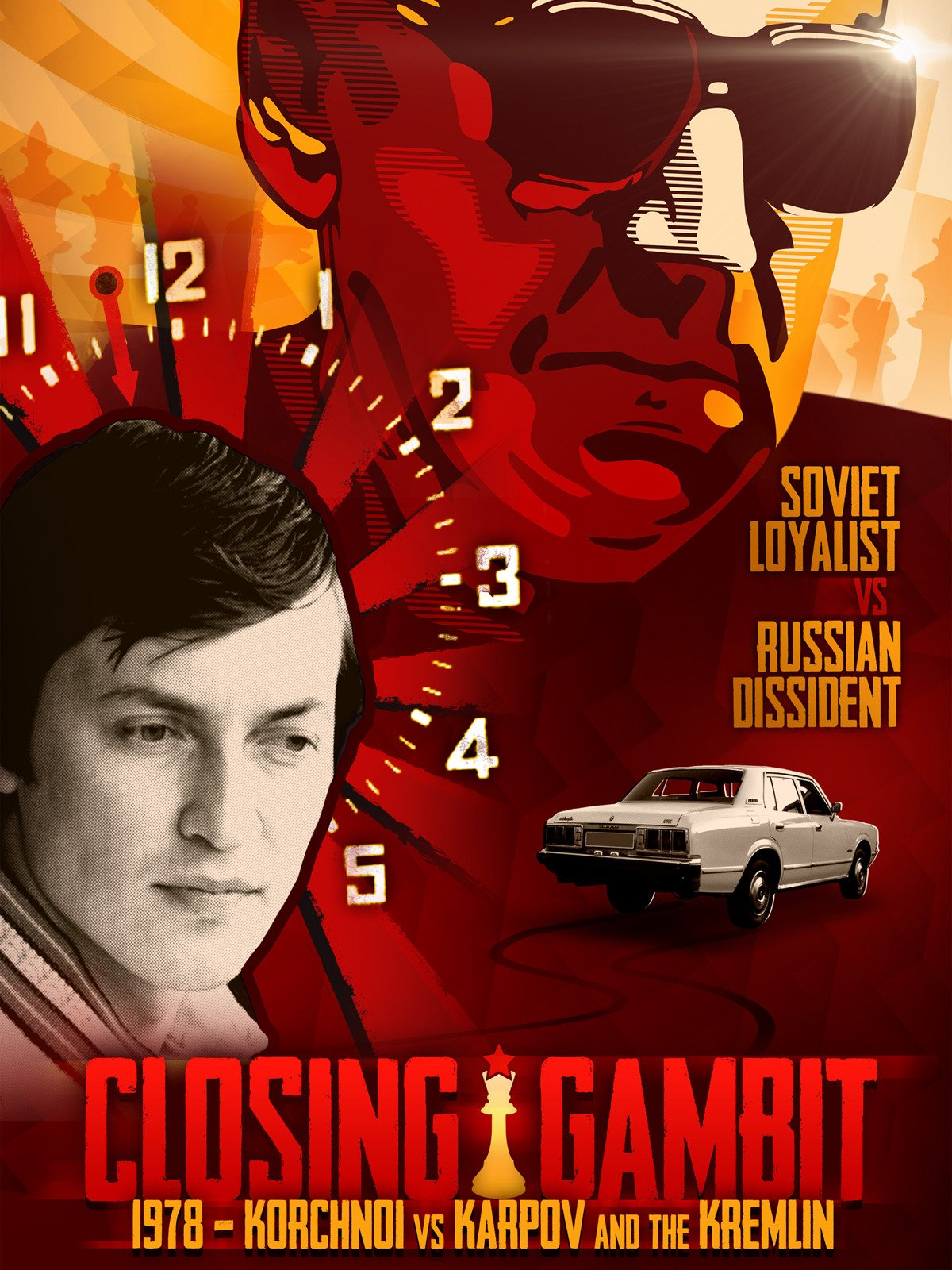 Closing Gambit: 1978 Korchnoi versus Karpov and the Kremlin on Amazon Prime Video UK