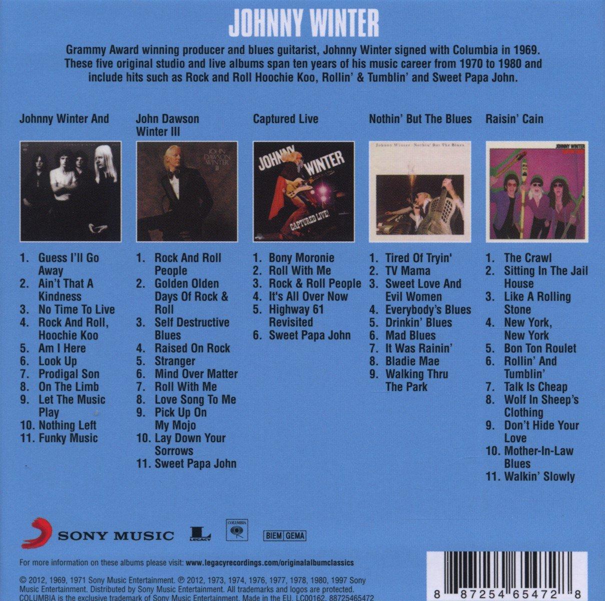 johnny winter original album classics 2 amazon com music