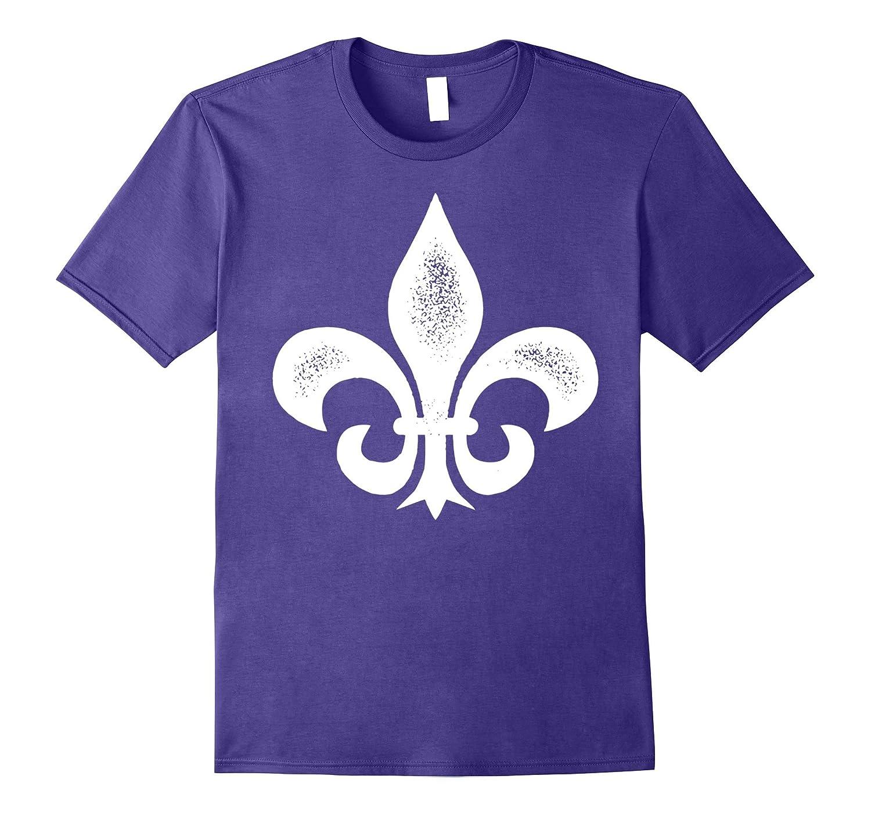Fleur De Lis T-Shirt new orleans louisiana mardi gras-ah my shirt one gift