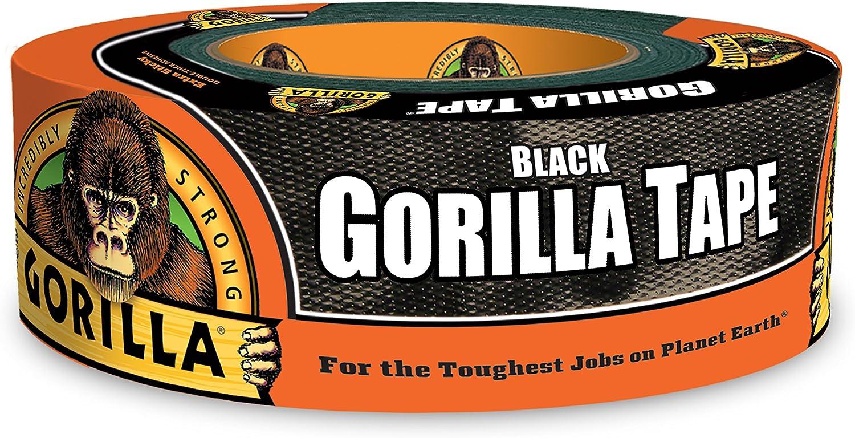 "Gorilla Black Duct Tape, 1.88"" x 35 yd, Black, (Pack of 1): Home Improvement"