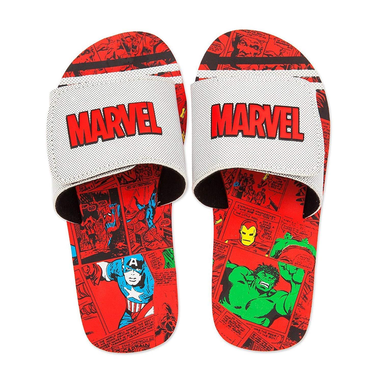 Shop Disney Marvel Avengers Comic Sandals for Kids Summer Beach