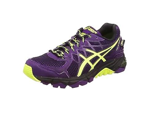 hot sale online 6bf56 50863 ASICS Women s Gel-Fujitrabuco 4 G-Tx Trail Running Shoes, (Black