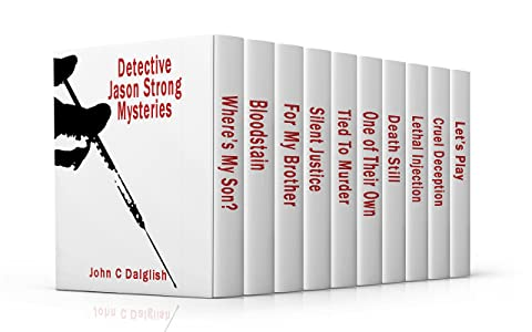 Detective Jason Strong Mysteries (1-10) CLEAN CRIME FICTION BOXED SET