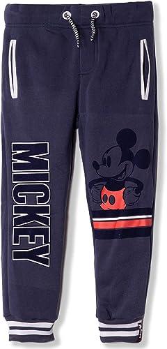 Disney Pantalones de chándal con diseño de Mickey Mouse, niños de ...