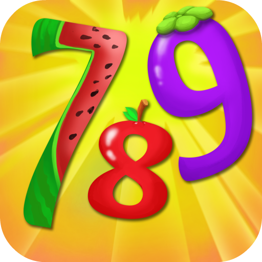 Seven Feed (Seven ate Nine: Solve Number Math Puzzle to Feed Cute Alien Fruit)