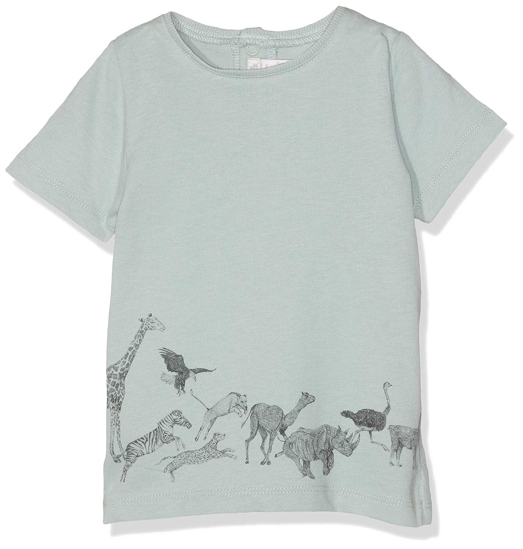 Mamas and Papas Baby-Jungen Running Animals Tee T-Shirt