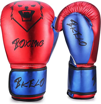 Boxing Gloves Punching Training Pro Kick Mitt MMA Fight Sparring Punch Bag Adult