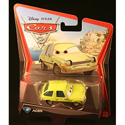 Disney/Pixar Cars 2 Movie Acer #12 1:55 Scale: Toys & Games