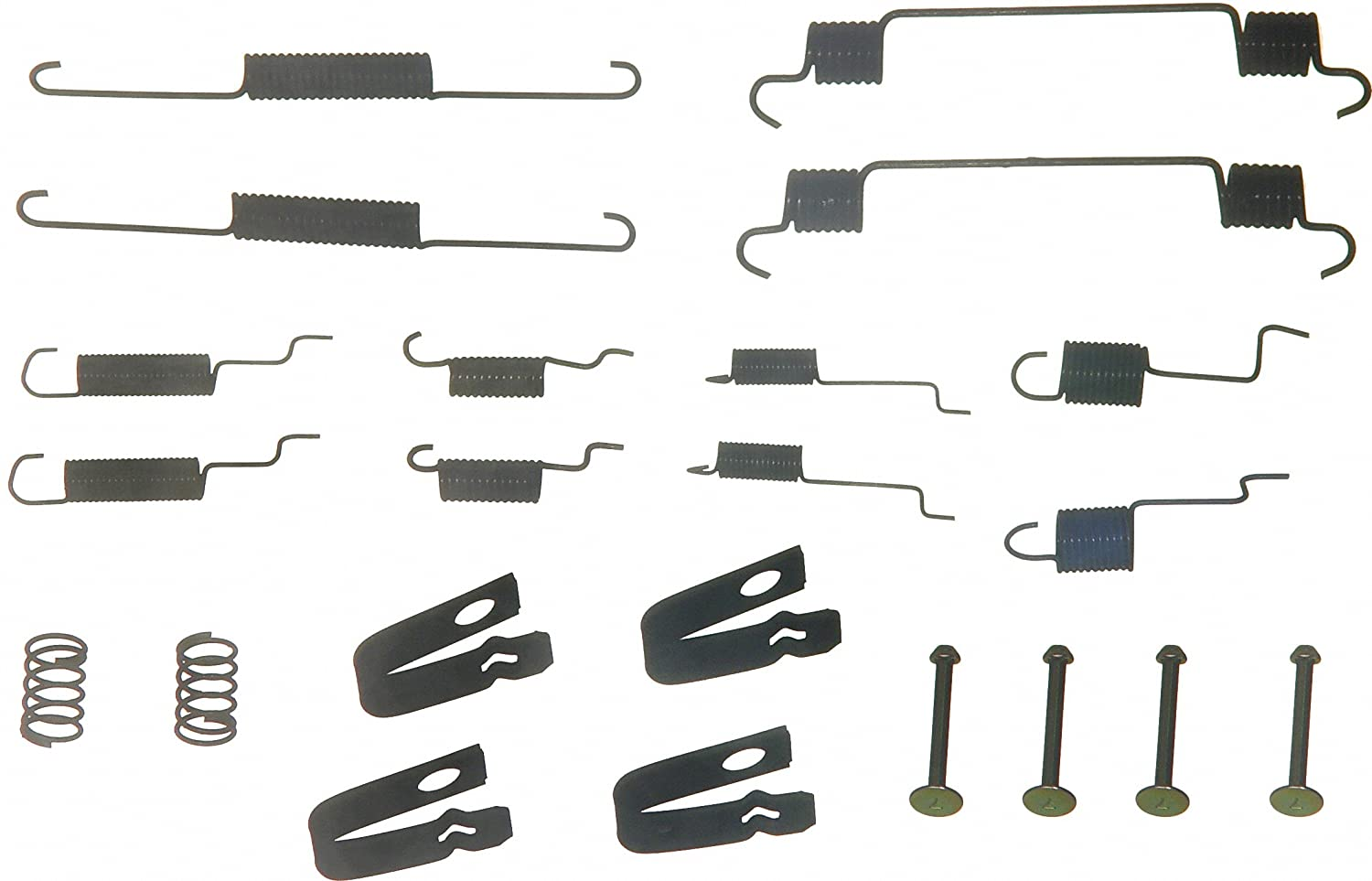 Rear Wagner H17218 Drum Brake Hardware Kit