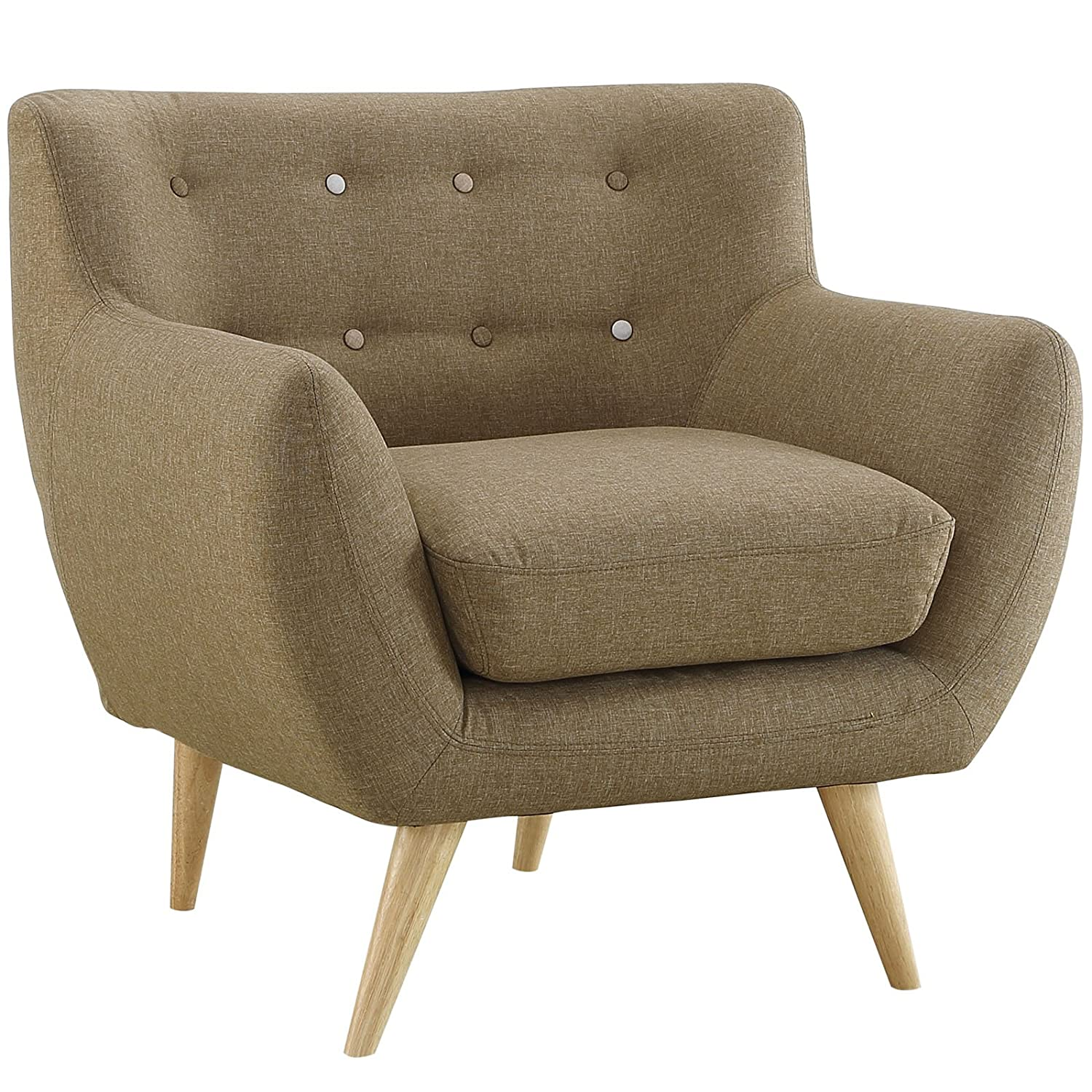 Armchair Upholstery Amazoncom Modway Remark Mid Century Modern Loveseat With