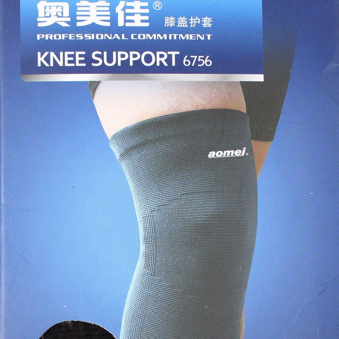Amazon.com: eDealMax Deporte al aire Libre Pullover rodilla elástico de la Manga del Abrigo de apoyo Protector: Health & Personal Care