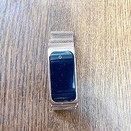Amazon スマートウォッチ Ip68防水 スマートブレスレット 腕時計 消費カロリー 電話 Line Twitter Sms通知 生理周期管理 歩数計 万歩計 目覚まし時計 長座注意 Iphone Android対応 ゴールド スマートウォッチ パソコン 周辺機器