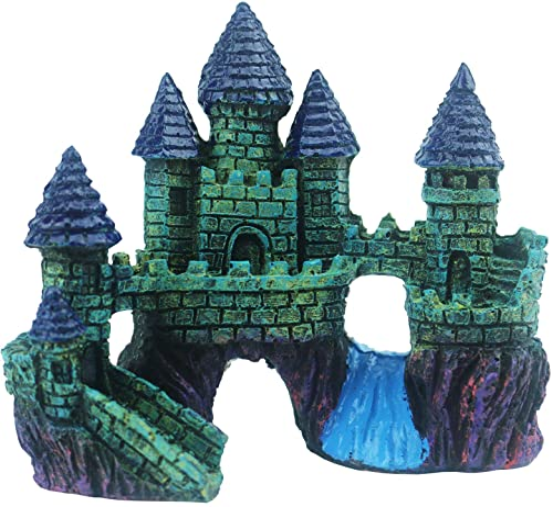 Tinsow Resin Castle Decoration