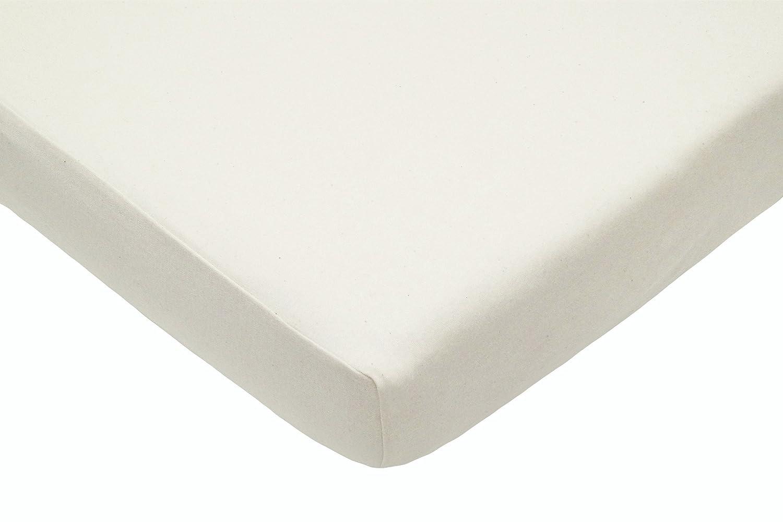 American Baby Company 12553 Organic Cotton Interlock Portable Fitted Crib Sheet 12553A