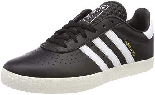 adidas 350 Mens Trainers Black White - 7 UK
