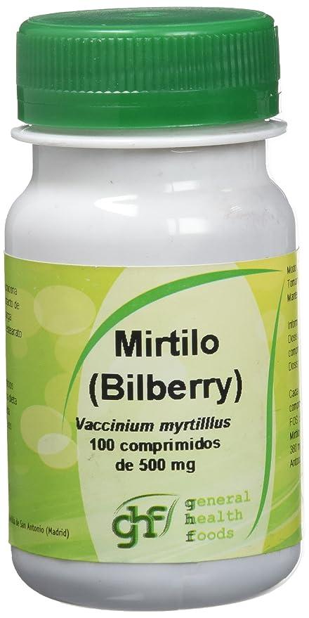 GHF - GHF Mirtilo 100 comprimidos de 500 mg
