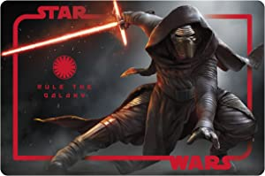 Zak! Designs Placemat with Kylo Ren from Star Wars The Force Awakens, BPA-Free Plastic