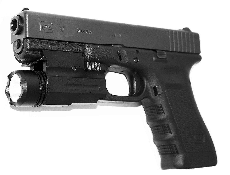 Flashlight 180 Lumen For Ruger Glock 17 19 22 Walther PK380