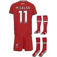 Liverpool M.Salah 2019/20 thuisshirt en shorts voor kinderen en jongeren, maat