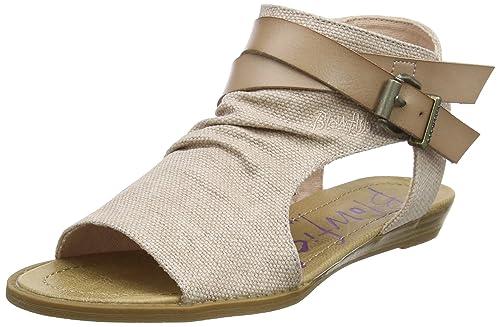 b11a60698d12 Blowfish Women s Balla Ankle Strap Sandals UK8 - EU41 - US10 - AU9 Blush