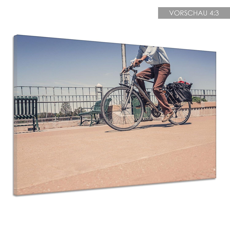 Ciclista vial Llanta Muñeco Lienzo Póster Impresión de dd0419 ...