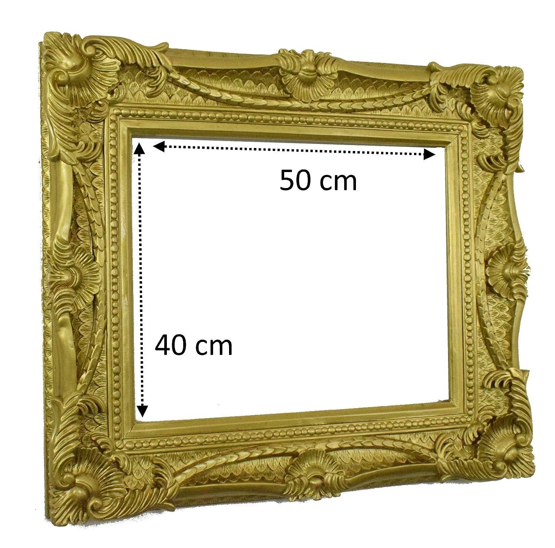 Prunk Bilderrahmen Barockrahmen 30x40cm Fine Gold Fein Verziert ...