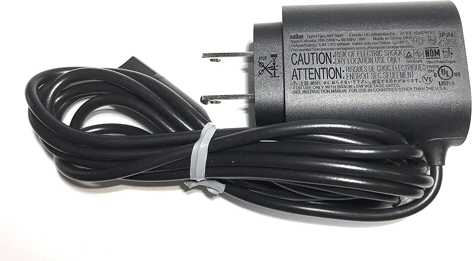 Braun Charger Cord for Select Models