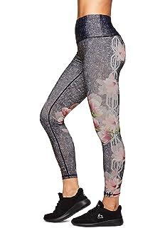 55416f3b508db Amazon.com: Fashion Floral Print Yoga Leggings Slim Fitness Yoga ...