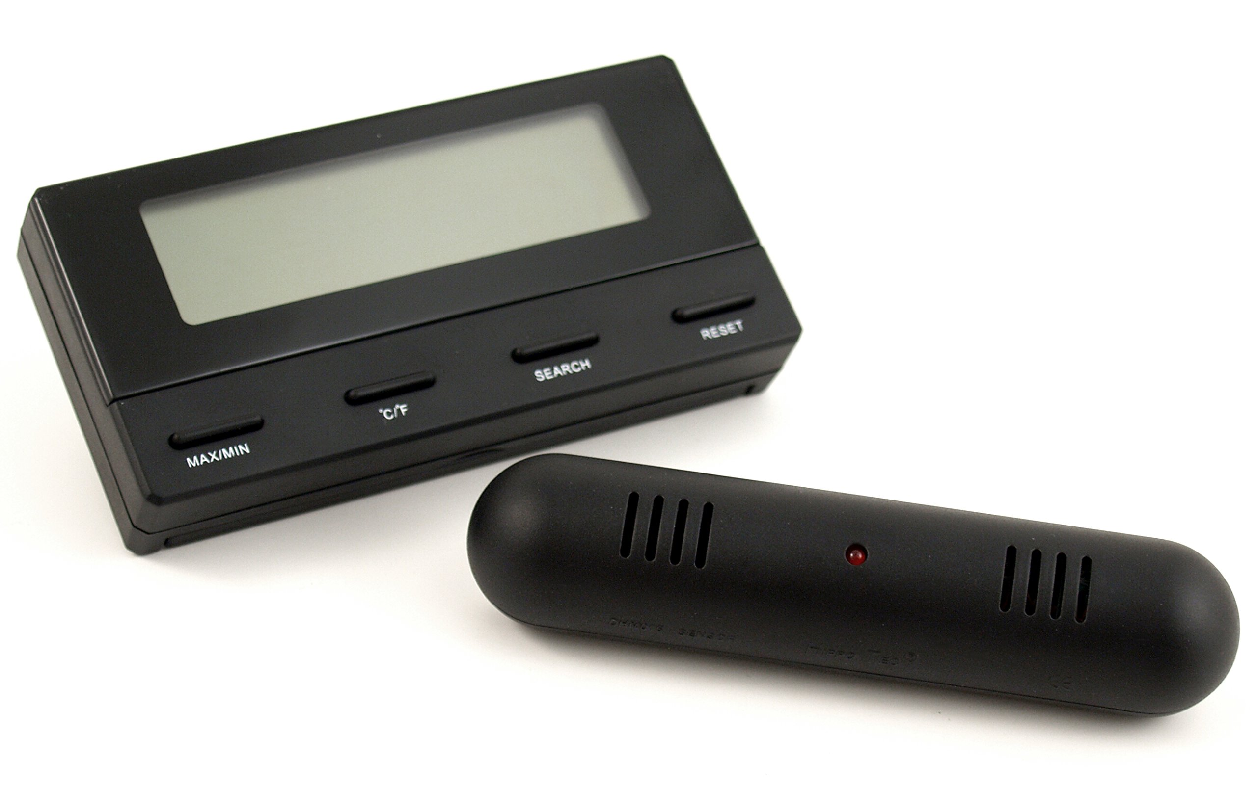 Digital Hygrometer Thermometer with Remote Sensor by CigarExtras