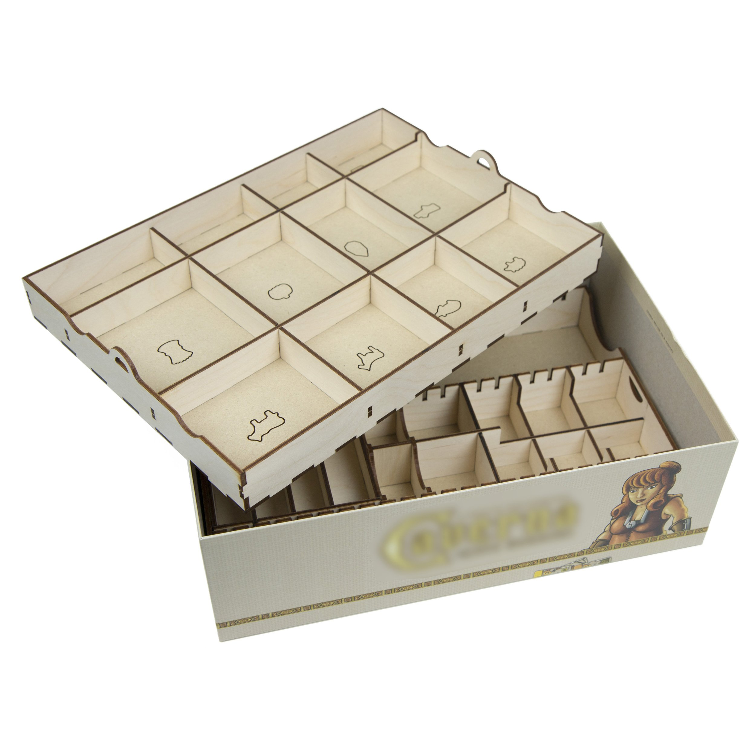 The Broken Token Box Organizer for Caverna by The Broken Token