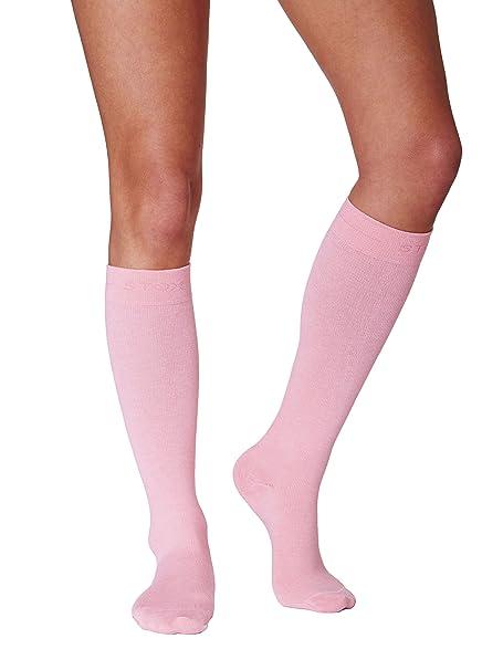 Calcetines de trabajo STOX Mujer Rosa Small / Calcetines de compresión / ¡Previenen las piernas cansadas!: Amazon.es: Ropa y accesorios