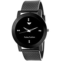Fadiso Fashion Ff-0133 Black Dial Analogue Round Dial Watch For Women